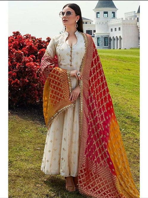 Beautiful gown kurti