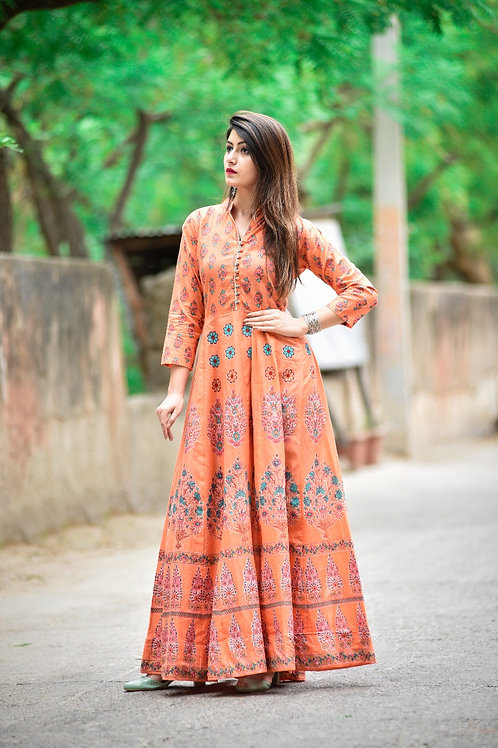 Mughal gown