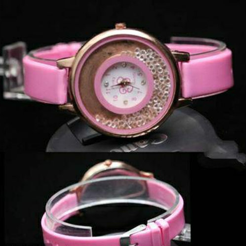 Fancy Silicone Strap Watches For Women
