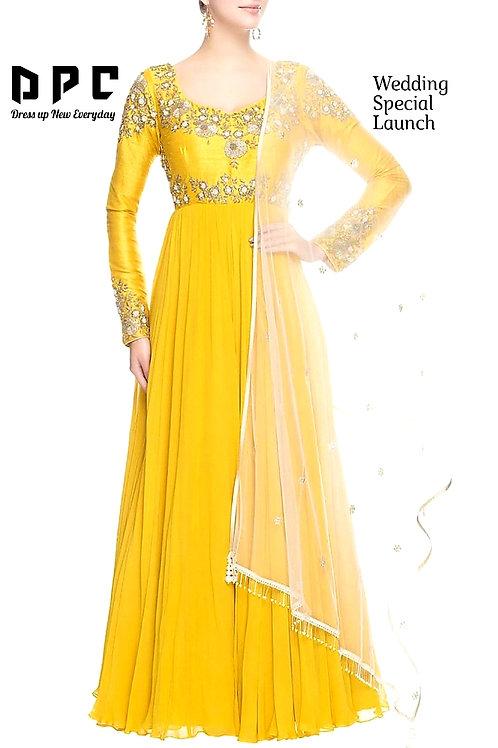 Haldi special dress