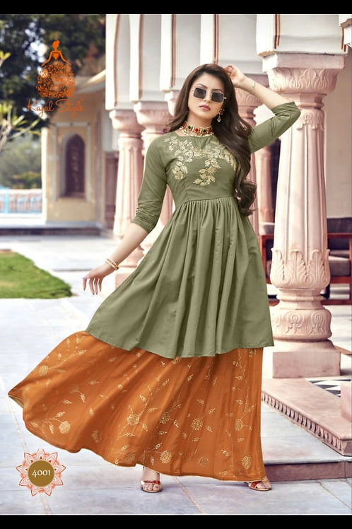 NEW ARRIVALS IN PARTY WEAR KURTIS* vol 1