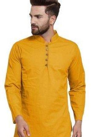Mens styles short kurta