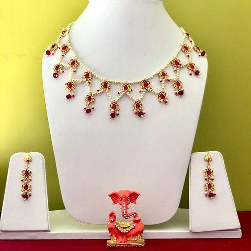 Beautiful set with earrings