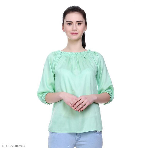 Girl's rayon top