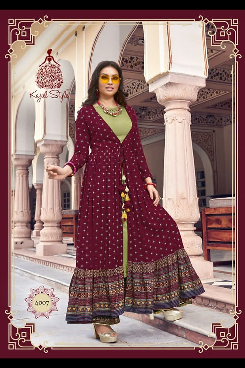 NEW ARRIVALS IN PARTY WEAR KURTIS vol 2*