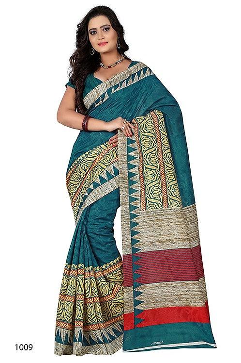 Women's Cotton Jacquard Saree