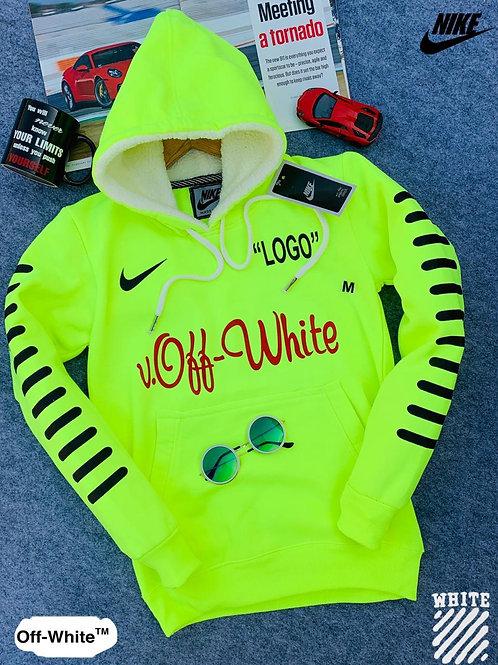 Nike off white sweatshirt