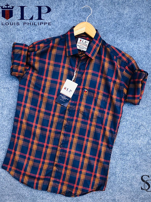 Louis phillipe check shirts