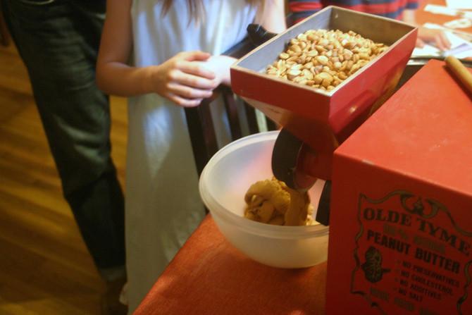 The Peanut Butter Machine!
