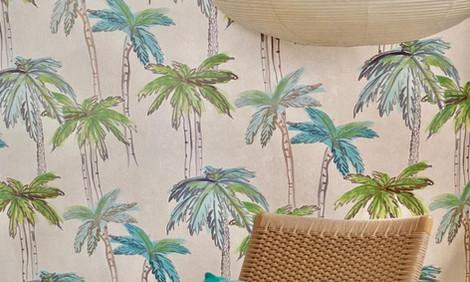 Papel de colgadura palmeras