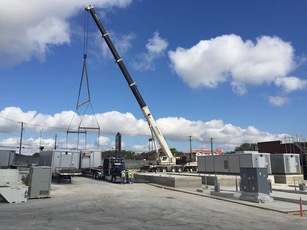 Austin Modules Crane