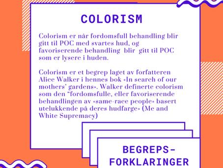 Begrepsforklaring - Colorism