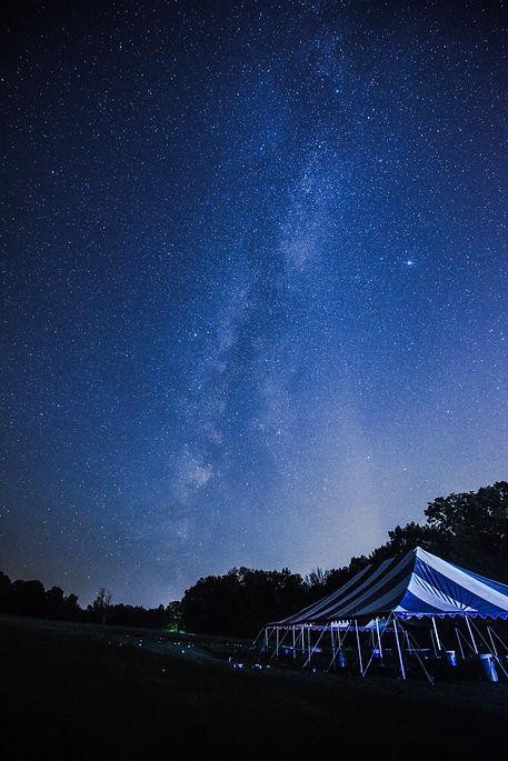 Night Sky Over Colgate