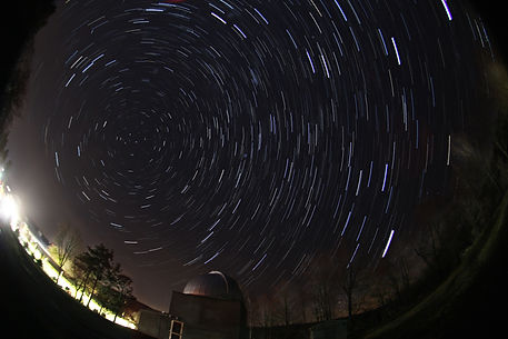 Star Trails Over Colgate