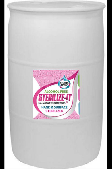 Sterile Spray, 55 Gallon