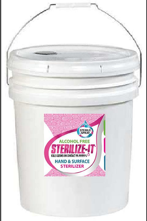 Sterile Spray, 5 Gallon