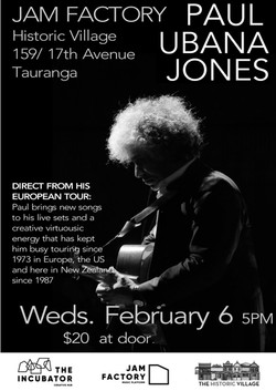 Paul Ubana Jones Poster