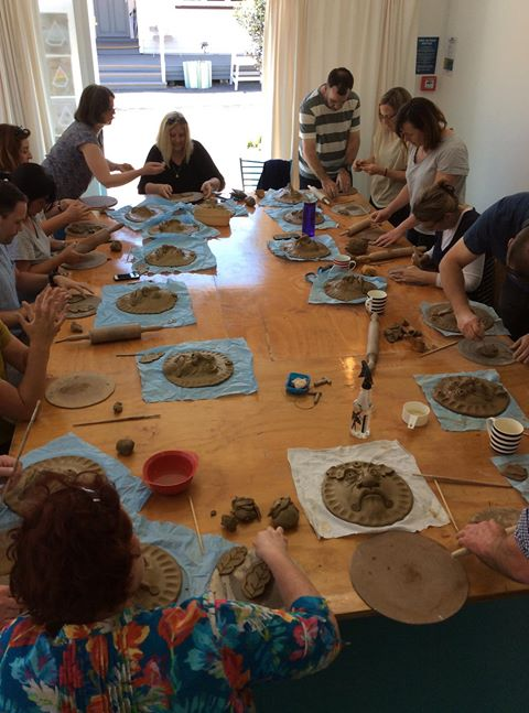 Clay mask workshops