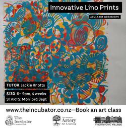 Innovative Lino Prints
