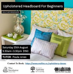 headboard Upholstery for Beginners