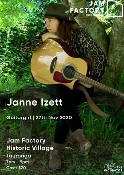 Janne Izett Flyer