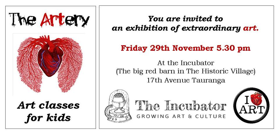 The Artery Art Class Exhibtion