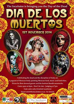 Dia de Los Muertos -Wow!!