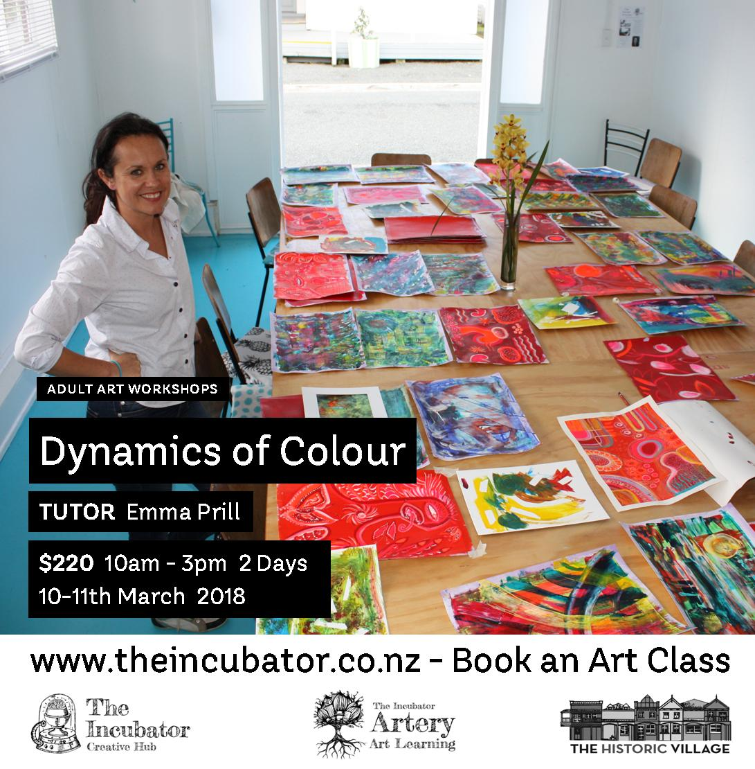 dynamics of colour  Flyer
