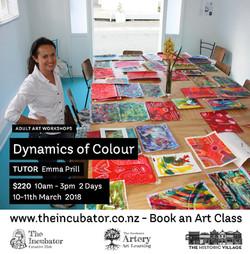 dynamics of colour  Flyer