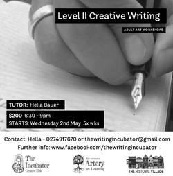 Level II Creative Writing