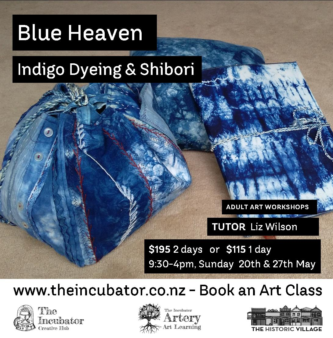 Indigo Workshop Liz Wilson