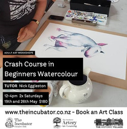 Crash C Beginners watercolour