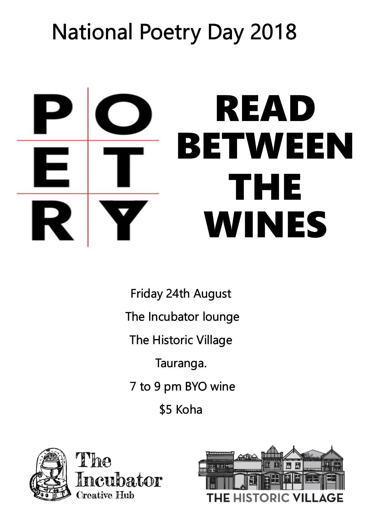 Poetry day A4 flyer