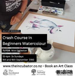 Crash C Beginners watercolour september.