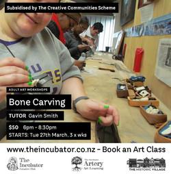 Bone Carving Gavin Smith