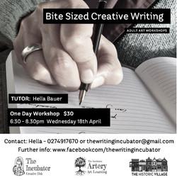 Bite Sized Creative Workshop