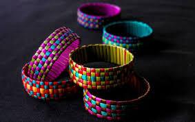 Raranga Harakeke bracelet weaving
