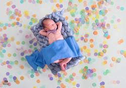 Rainbow Baby - Digital Background by Sum