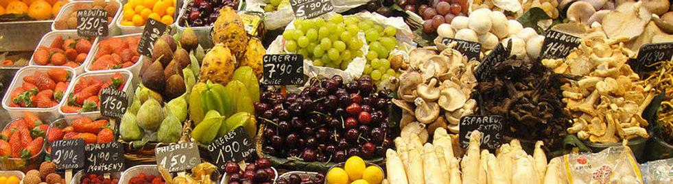 Gemüse Pilze Früchte Ernährung Gesundheit