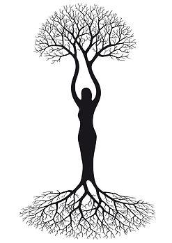 Symbolischer Lebensbaum