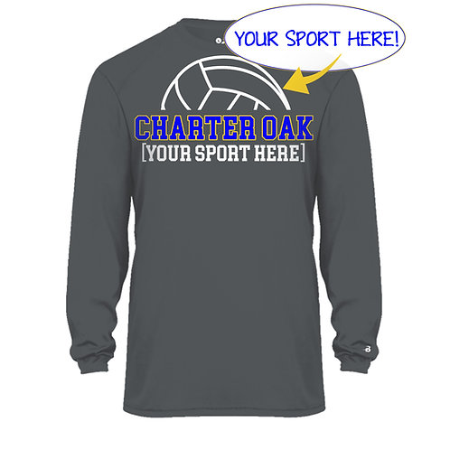 Dry Fit Long Sleeve Ball Design