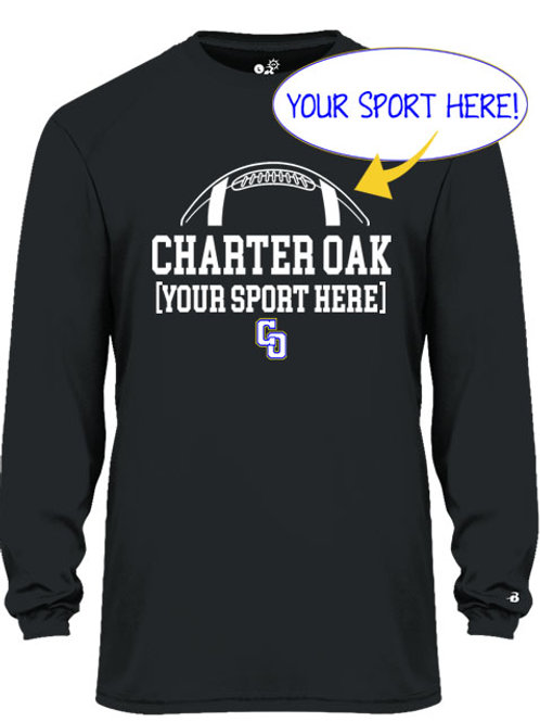 Dry Fit Long Sleeve Ball and CO Design