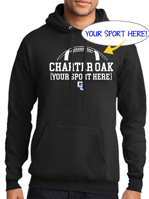 50/50 Hoodie Ball and CO Design