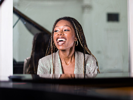 Day 348 - Isata Kanneh-Mason - a star in her own right.