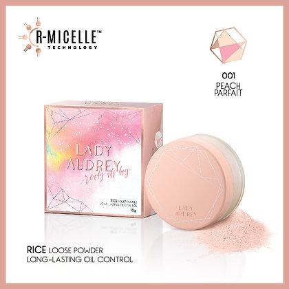 Lady Audrey Rice Loose Powder 001 Peach Parfait