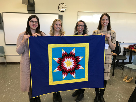 The Star Quilt Blanket Group