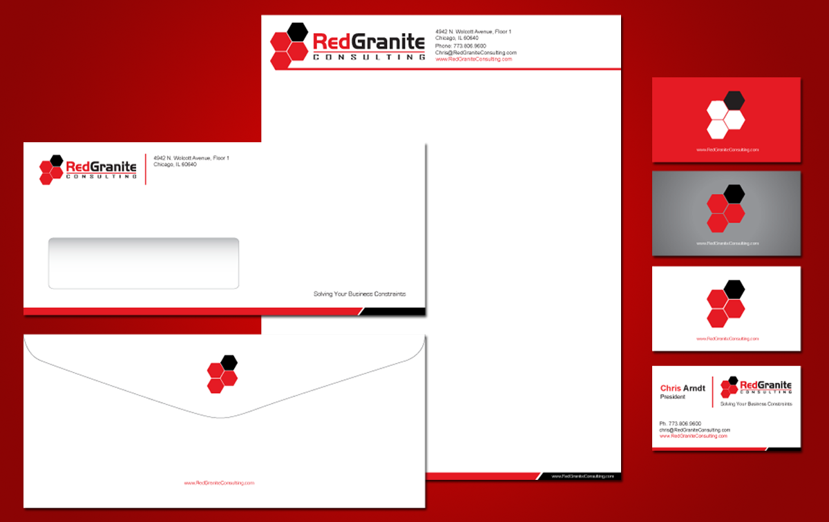Red Granite Corporate Identitites