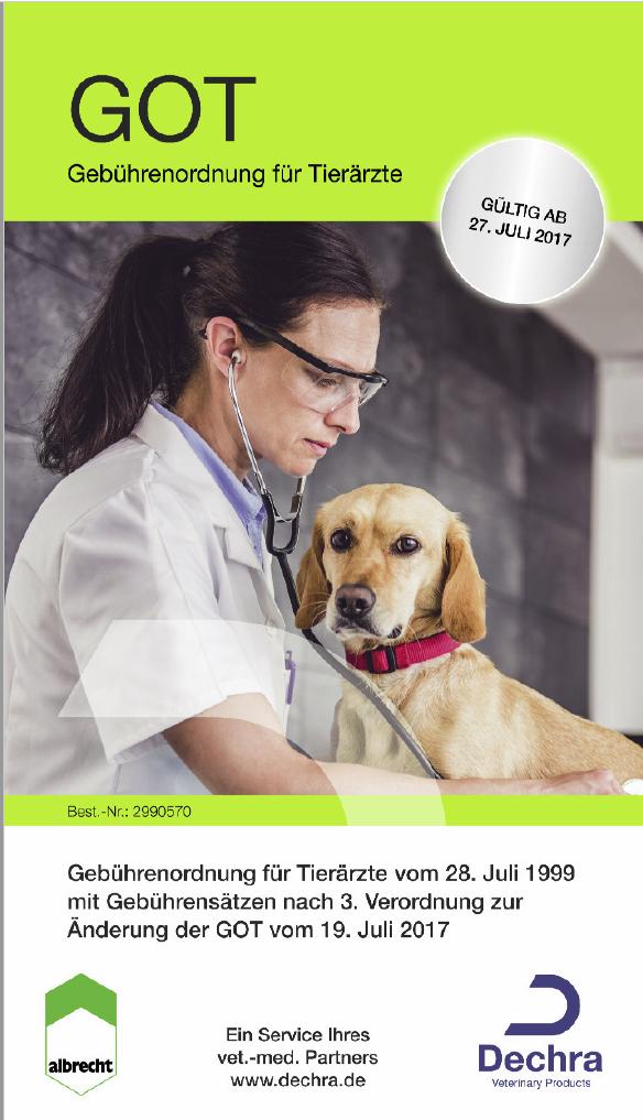 Gebührenordnung für Tierärzte