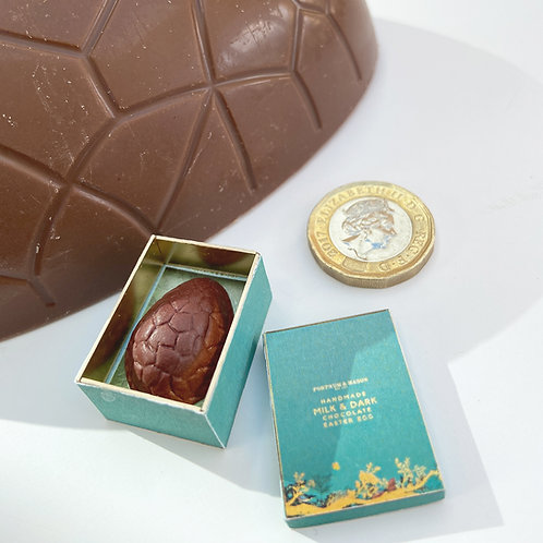 1:12 Scale Small Boxed Easter Egg