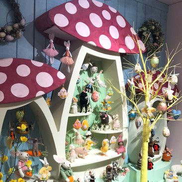 Whimasical Toadstools - Easter Display